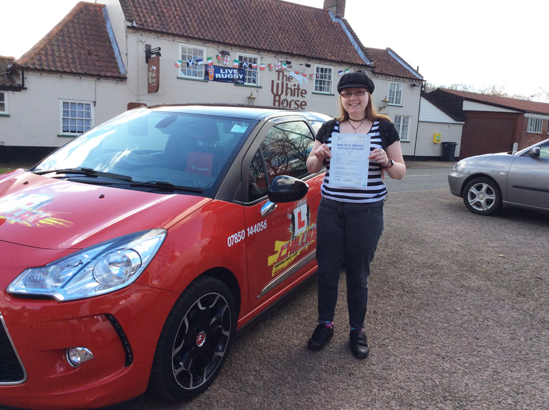 another Chillax Driving Test Pass